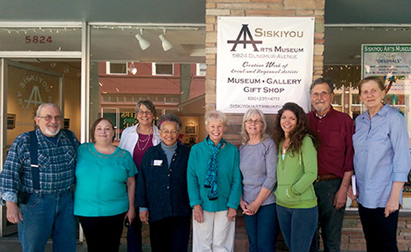 A few of SAM's volunteers and Board members recently gathered for a group photo. (L-R:): Dave & Teri Costerhouse, Arlene Dinges, Cynthia Henderson, Barbara Cross, Linda Price, Wisper Kirmmer, Ed & Joanne Steele. Thanks to RIchard Dinges for snapping pics!