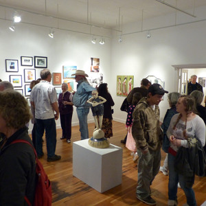 Many attendees also returned to view the 2015 SAM Members Show in the Gallery space.