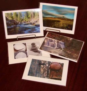 greeting cards featuring photography